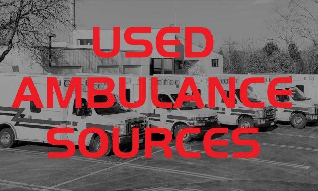 Used Ambulance Sources
